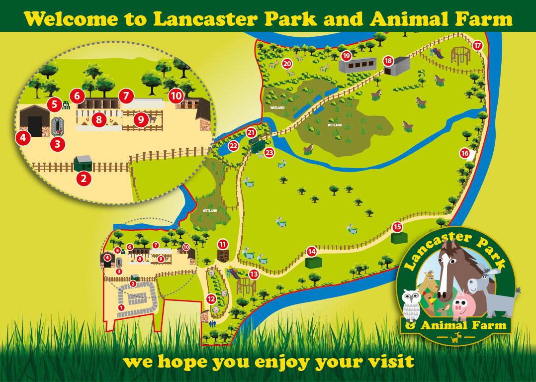 Lancaster Park Map